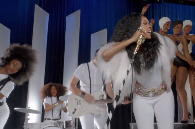 Janelle Monae Hair Down